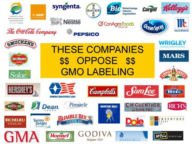 Companies That Oppose Genetically Modified Organism (GMO) Labeling