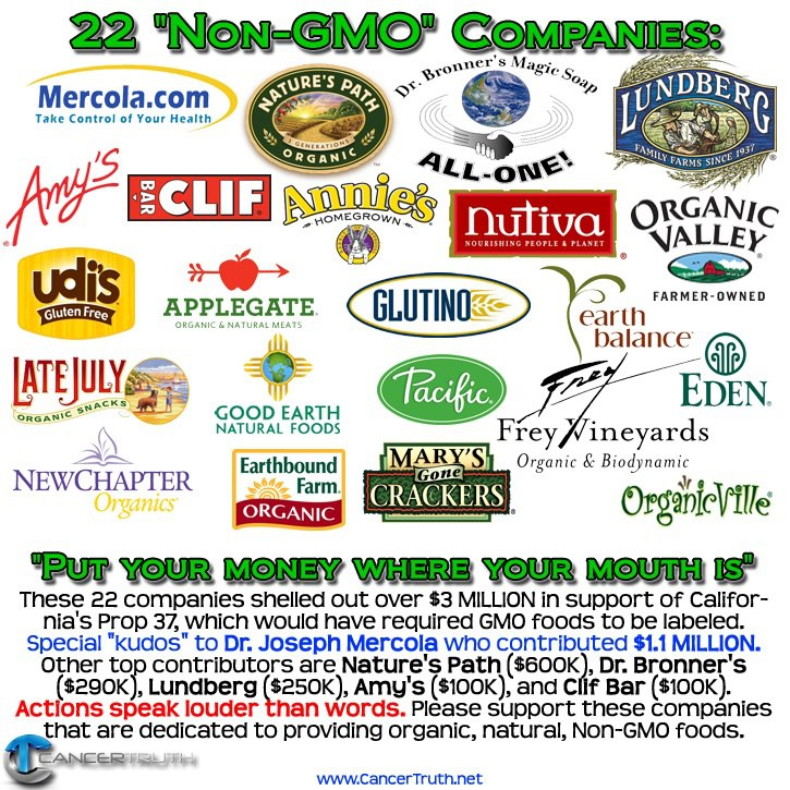 "22 ""Non-GMO"" Companies to Buy From"