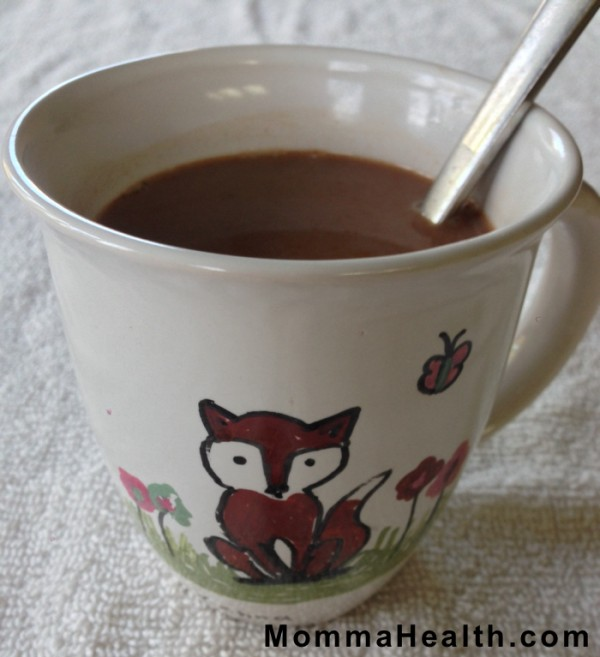 Here is how you can make a healthier instant hot chocolate